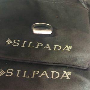 Silpada R3262 Big Idea Ring Size 9